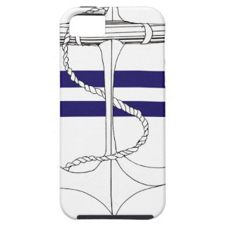Tony Fernandes 2 blue stripe anchor Case For The iPhone 5