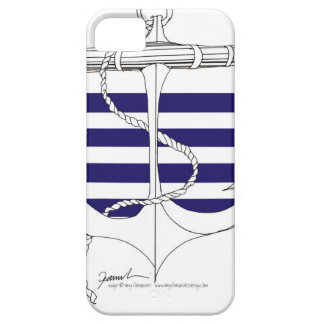 Tony Fernandes 4 blue stripe anchor iPhone 5 Case
