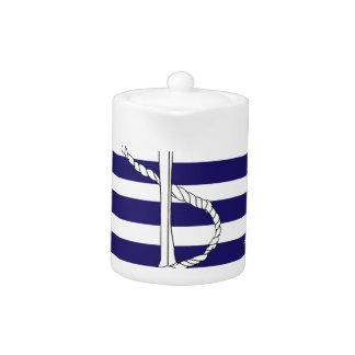 Tony Fernandes 8 blue stripe anchor