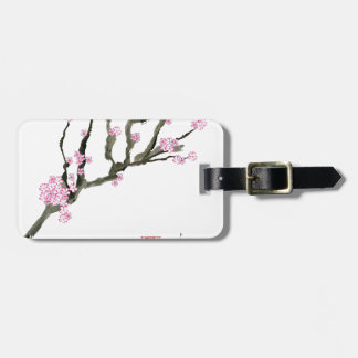 Tony Fernandes cherry blossom 8 Luggage Tag