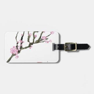 Tony Fernandes cherry blossom 8 Luggage Tag