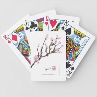 Tony Fernandes cherry blossom 8 Poker Deck