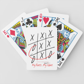 tony fernandes, it's my game (3) bicycle playing cards
