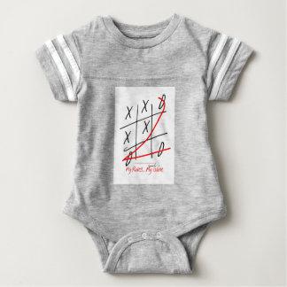 tony fernandes, it's my rule my game (10) baby bodysuit