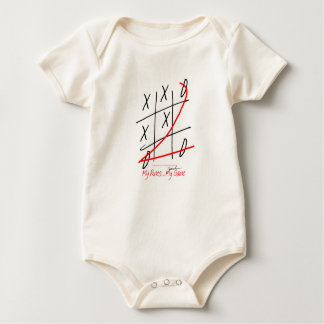 tony fernandes, it's my rule my game (10) baby bodysuit
