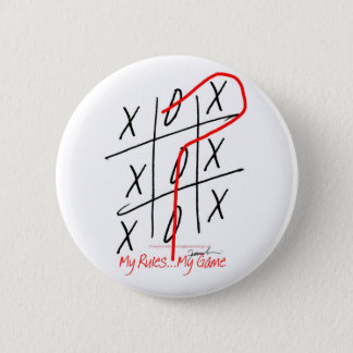 tony fernandes, it's my rule my game 6 6 cm round badge