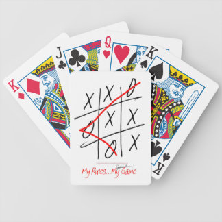tony fernandes, it's my rule my game (8) bicycle playing cards