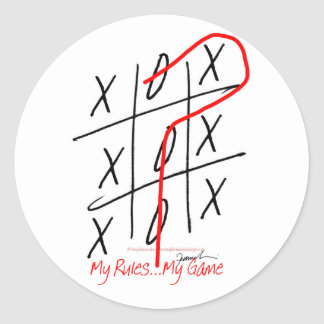 tony fernandes, it's my game 6 classic round sticker