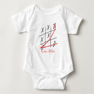 tony fernandes, my rules my game (10) baby bodysuit