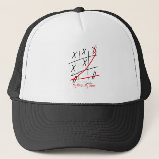 tony fernandes, my rules my game (10) trucker hat