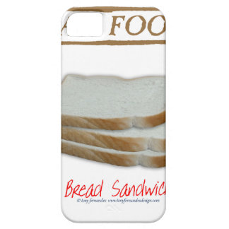 Tony Fernandes's Man Food - bread sandwich Barely There iPhone 5 Case