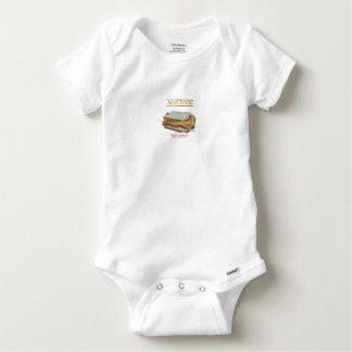 Tony Fernandes's Man Food - toast sandwich Baby Onesie