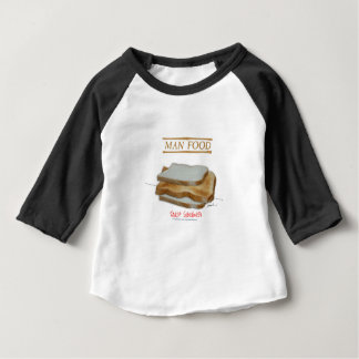 Tony Fernandes's Man Food - toast sandwich Baby T-Shirt