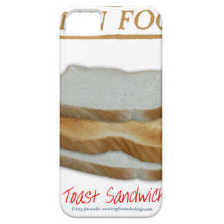 Tony Fernandes's Man Food - toast sandwich Case For The iPhone 5