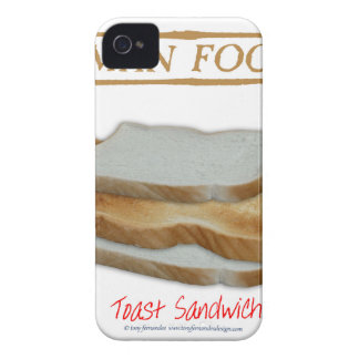 Tony Fernandes's Man Food - toast sandwich Case-Mate iPhone 4 Cases