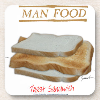 Tony Fernandes's Man Food - toast sandwich Coaster