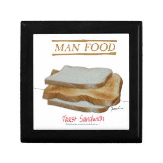 Tony Fernandes's Man Food - toast sandwich Gift Box