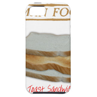 Tony Fernandes's Man Food - toast sandwich iPhone 5 Cover