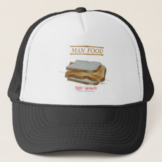 Tony Fernandes's Man Food - toast sandwich Trucker Hat