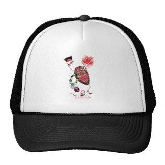 Tony Fernandes's Red Ruby Fab Egg Cap