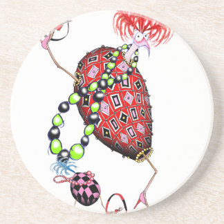 Tony Fernandes's Red Ruby Fab Egg Coaster