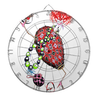 Tony Fernandes's Red Ruby Fab Egg Dartboard
