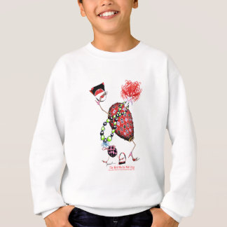 Tony Fernandes's Red Ruby Fab Egg Sweatshirt