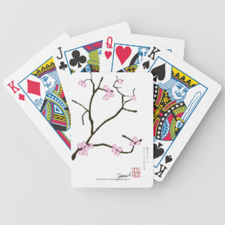 Tony Fernandes Sakura Blossom 1 Bicycle Playing Cards