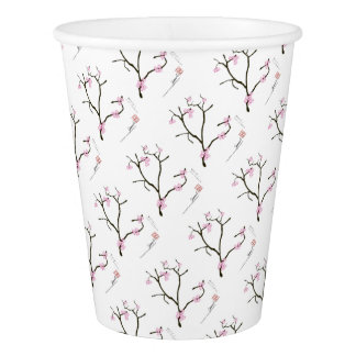 Tony Fernandes Sakura Blossom 1 Paper Cup