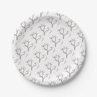Tony Fernandes Sakura Blossom 1 Paper Plate