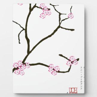 Tony Fernandes Sakura Blossom 1 Plaque