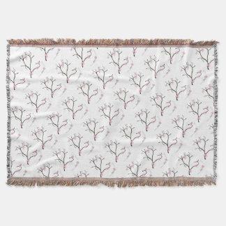Tony Fernandes Sakura Blossom 1 Throw Blanket
