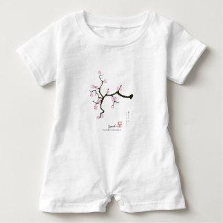 Tony Fernandes Sakura Blossom 2 Baby Bodysuit