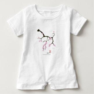 Tony Fernandes Sakura Blossom 3 Baby Bodysuit
