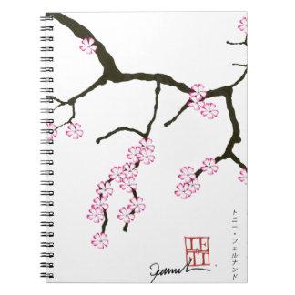 Tony Fernandes Sakura Blossom 3 Notebooks