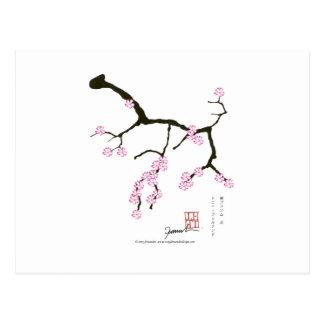 Tony Fernandes Sakura Blossom 3 Postcard