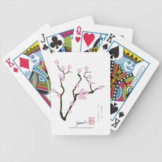 Tony Fernandes Sakura Blossom 5 Bicycle Playing Cards
