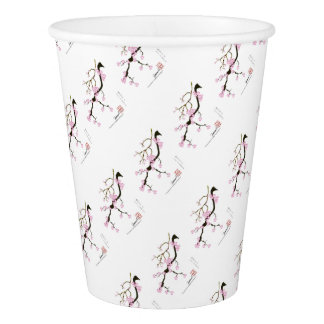 Tony Fernandes Sakura Blossom 6 Paper Cup