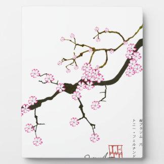 Tony Fernandes Sakura Blossom 6 Plaque