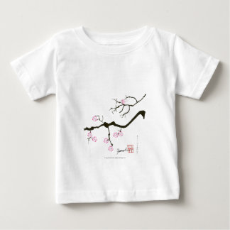 tony fernandes sakura blossom and pink bird baby T-Shirt
