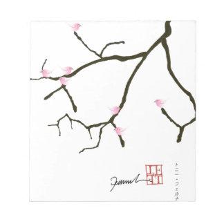 tony fernandes sakura with 7 pink birds 2 notepad