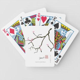 tony fernandes sakura with 7 pink birds 2 poker deck