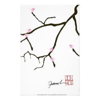 tony fernandes sakura with 7 pink birds 2 stationery