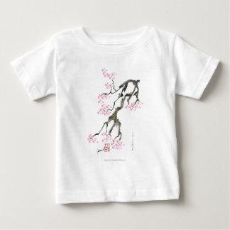 tony fernandes sakura with pink goldfish baby T-Shirt