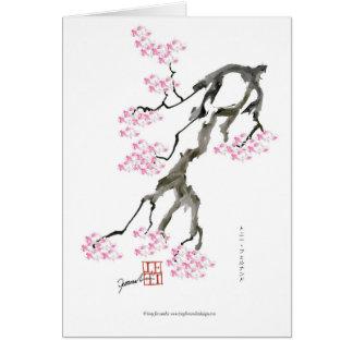 tony fernandes sakura with pink goldfish card