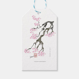 tony fernandes sakura with pink goldfish gift tags