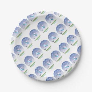 tony fernandes's argentina forward paper plate