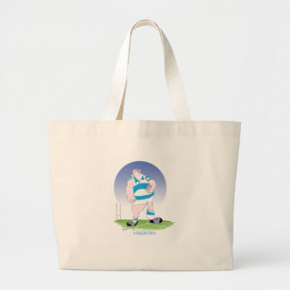 tony fernandes's argentina hero large tote bag