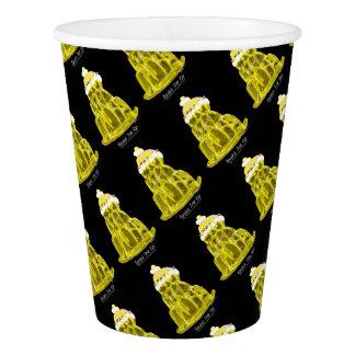 tony fernandes's banana jello rat paper cup