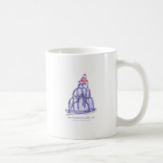 tony fernandes's blackcurrant jelly cat coffee mug
